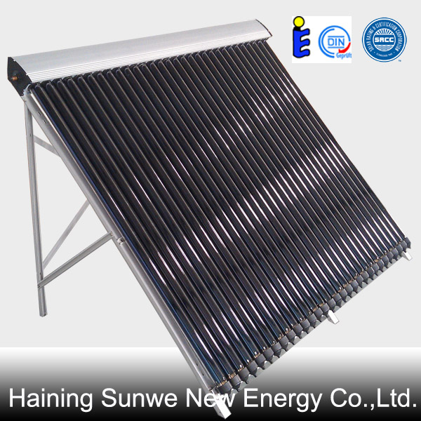 30 tube heat pipe solar collector